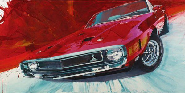 '69 GT500 byCamilo Pardo, Painting